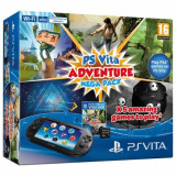 Consola SONY PS Vita Wi-Fi + Adventure Mega Pack + memorie 8GB