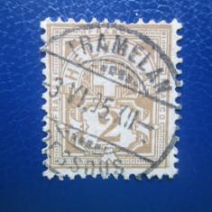 TIMBRE ELVETIA 1906, An: 1949, Stampilat