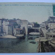 Carte postala circulata - Mont de Marsal, Franta, anii 1920, Printata
