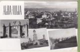 Bnk cp Alba Iulia - Vedere - circulata, Printata