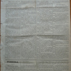 Ziarul Albina , nr. 18 , 1870 , Budapesta , in limba romana , Director V. Babes