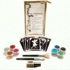 Set creatie Glitter Tatoo, 41 piese