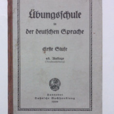 Carte in limba germana 1930 / R5P4S - Carte in germana