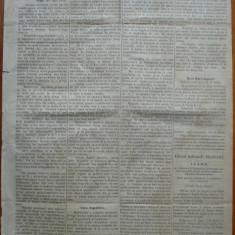 Ziarul Albina , nr. 20 , 1870 , Budapesta , in limba romana , Director V. Babes