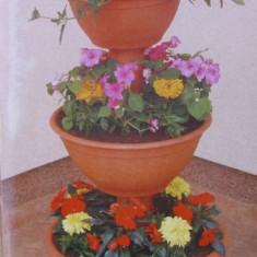 Suport flori fantana arteziana mijlociu - Ghiveci