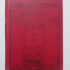 Carte in limba germana 1914 / R5P4S
