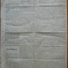 Ziarul Albina , nr. 15 , 1870 , Budapesta , in limba romana , Director V. Babes