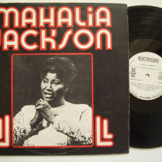 Disc vinil MAHALIA JACKSON (STM - EDE 01453) - Muzica Blues electrecord