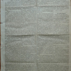 Ziarul Albina , nr. 19 , 1870 , Budapesta , in limba romana , Director V. Babes