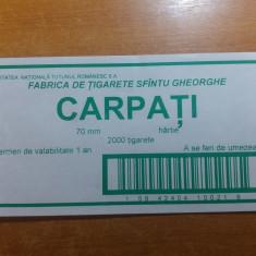 Eticheta originala pt bax tigari romanesti