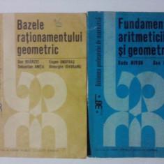 Lot 2 carti de matematica / R5P4S - Carte Matematica