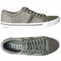 40.5_Tenisi originali KAPPA_adidasi kappa barbati_panza_in cutie - Tenisi barbati Kappa, Culoare: Verde, Textil