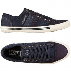 40.5_Tenisi originali KAPPA_adidasi kappa barbati_panza_albastru_in cutie - Tenisi barbati Kappa, Textil