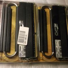 Kit 4gb (2x2gb) ddr3 1333nhz OCZ Reaper Dual Channel - Memorie RAM Ocz, DDR 2, 1333 mhz