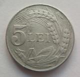 Moneda 5 Lei- 1942 zinc - ROMANIA *cod 1705