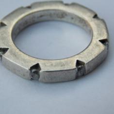 Inel argint vintage cu zirconii - 292