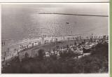Bnk cp Vasile Roaita - Plaja - uzata, Circulata, Fotografie, Eforie