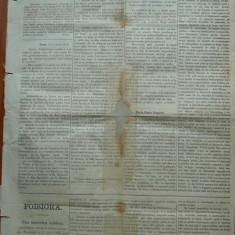 Ziarul Albina , nr. 13 , 1870 , Budapesta , in limba romana , Director V. Babes