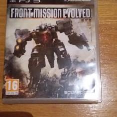 JOC PS3 FRONT MISSION EVOLVED ORIGINAL / by DARK WADDER - Jocuri PS3 Square Enix, Shooting, 16+, Single player