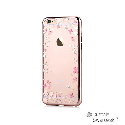 9a5eba9d6b3 Carcasa iPhone 6/6S Devia Crystal Spring Champagne Gold (Cristale Swarovski?,  electroplacat