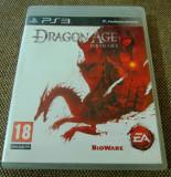 Joc Dragon Age Origins, PS3, original, alte sute de jocuri!, Role playing, 18+, Single player, Ea Games