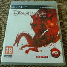 Joc Dragon Age Origins, PS3, original, alte sute de jocuri! - Jocuri PS3 Ea Games, Actiune, 18+, Single player