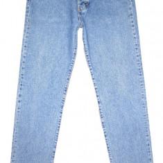 CALVIN KLEIN clasici - (MARIME: 32 x 34) - Talie = 83 CM, Lungime = 115 CM - Blugi barbati Calvin Klein, Culoare: Albastru, Prespalat, Drepti, Normal