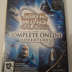 Joc PC Electronic Arts 4 in 1 - STAR WARS Galaxies: The complete online adventures (Nou, Sigilat), Role playing, 16+, Multiplayer