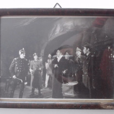 Fotografie cu actori de teatru inramata in atelierul Gerstenberg