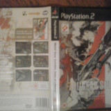 Metal Gear Solid 2 Sons of liberty - PS2 ( GameLand ) - Jocuri PS2, Actiune, 16+, Single player