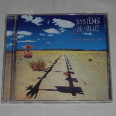 Vand cd SYSTEM IN BLUE-Point of no return - Muzica Dance universal records