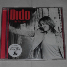 Vand cd DIDO-Life for rent - Muzica Pop arista