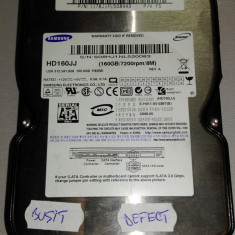 Hard Disk defect SAMSUNG HD160JJ E-H011-05-0397(B)