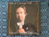 Lazar BERMAN - LIVE AT CARNEGIE HALL - BEETHOVEN, CHOPIN, LISZT (2 VINILURI NOI), VINIL