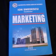 MARKETING- ION SMEDESCU-UNIVERSITATEA ROMANO- AMERICANA-695 PG A 4- - Curs marketing