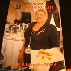 CAIETUL OSPATARULUI- CORINA SI CLAUDIA TOMA+ CD- - Carte personalizata