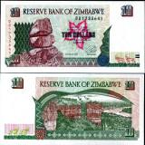 !!! ZIMBABWE - 10 DOLARI 1997 - P 6 - UNC, Africa