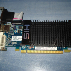 Placa video HIS Ati Radeon HD 4350 512MB DDR2 VGA DVI HDMI silent - Placa video PC His, PCI Express