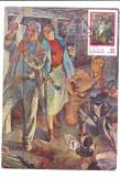 No(2)ilustrata maxima-SEMICENTENARUL PCR prima zi 1971, Romania de la 1950, Sarbatori