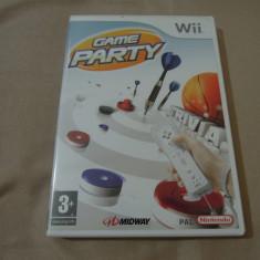 Game Party, pentru Wii, original, PAL, alte sute de jocuri! - Jocuri WII Altele, Actiune, 3+, Multiplayer