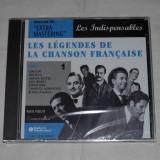 Vand cd LES LEGENDES DE LA CHANSON FRANCAISE Vol.1-3-4