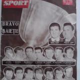 Revista vintage Sport nr. 6 / 1961 - Revista barbati