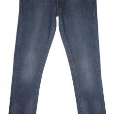 Blugi ZARA SLIM FIT - (MARIME: 34) - Talie = 93 CM / Lungime = 114 CM - Blugi barbati Zara, Culoare: Din imagine, Prespalat, Normal