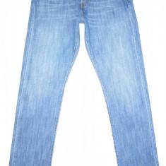 LEVI'S 501 de dama - (MARIME: W 24) - Talie = 80 CM / Lungime = 108 CM - Blugi dama Levi's, Marime: 29, Culoare: Albastru, Drepti, Normala