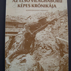 Primul Razboi Mondial in imagini. Format mare, 230 pagini cu 221 imagini. - Fotografie veche