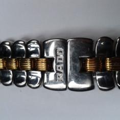 Vand curea / bratara dama Rado Florence original - Curea ceas din metal