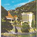 Bnk cp Baile Herculane - Hotelul Hercule - circulata - marca fixa - Carte Postala Banat dupa 1918, Printata