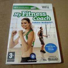 My fitness Coach Cardio Workout, pentru Wii, original, alte sute de jocuri - Jocuri WII Ubisoft, Sporturi, 3+, Multiplayer