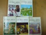 Istoria artei E. Faure 5 volume antica medievala renasterii moderna 1970
