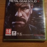 JOC XBOX 360 METAL GEAR SOLID 5 GROUND ZEROES ORIGINAL PAL / by DARK WADDER - Jocuri Xbox 360, Actiune, 18+, Single player